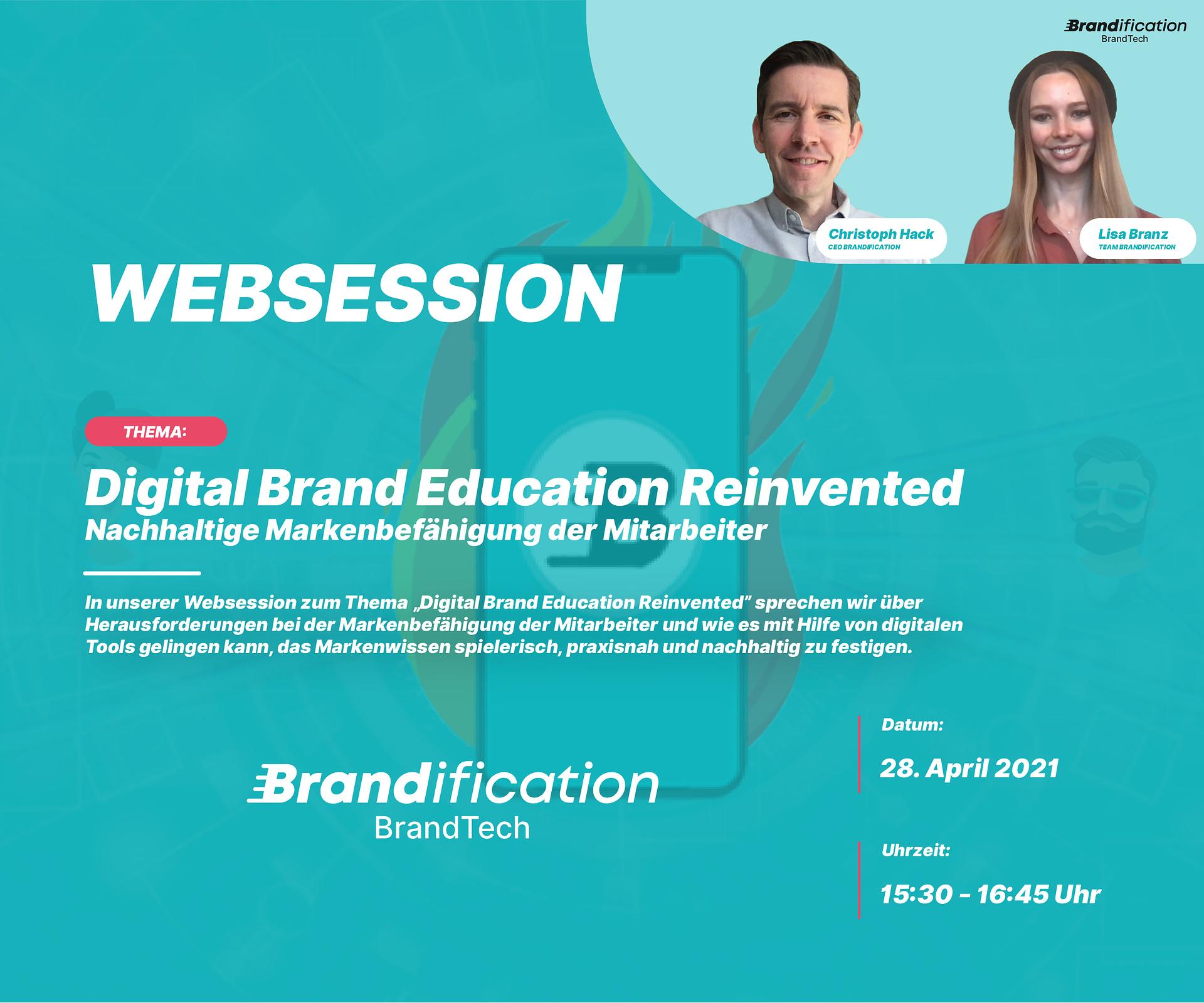 Web session: Digital Brand Education Reinvented