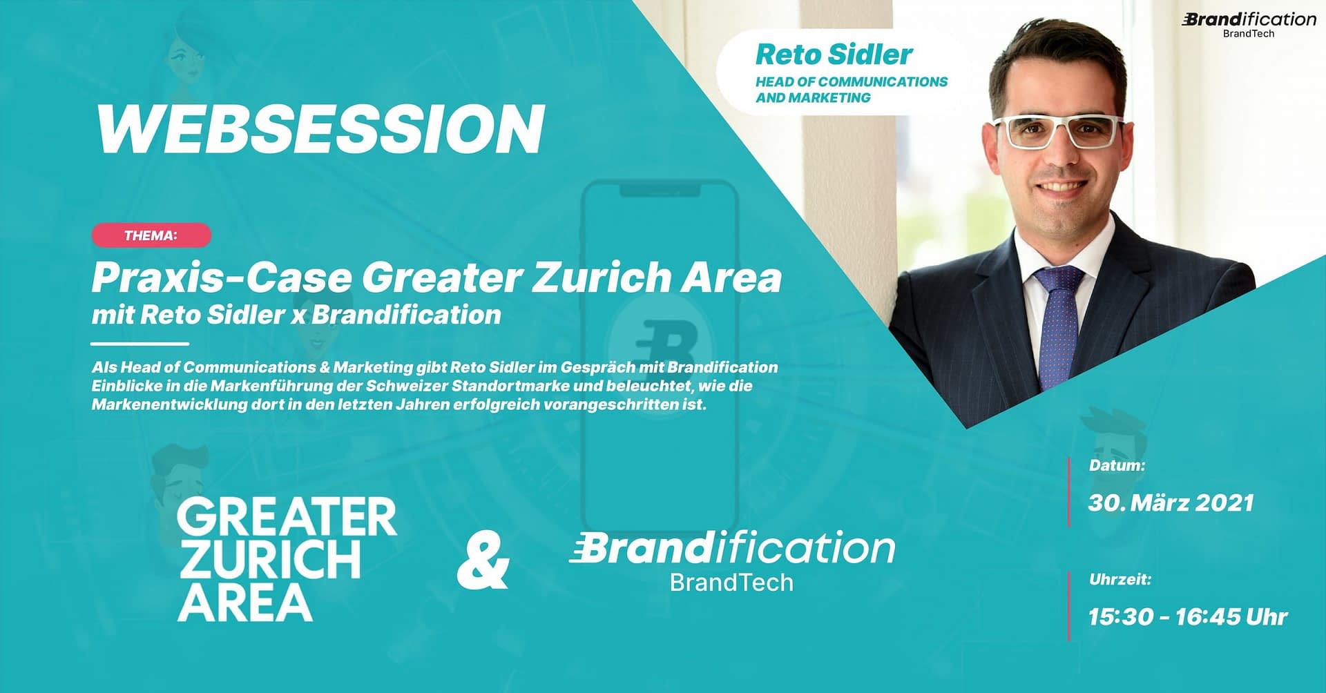 Web session event with Reto Sidler and Brandification