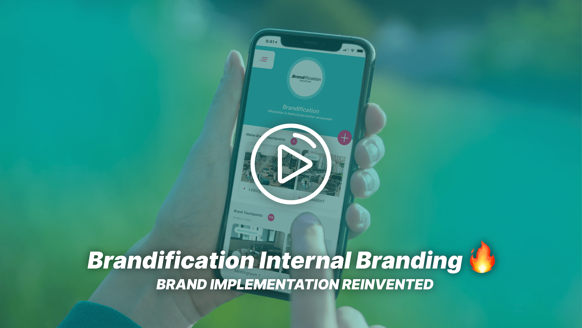 Thumbnail to the video about Brandification Internal Branding